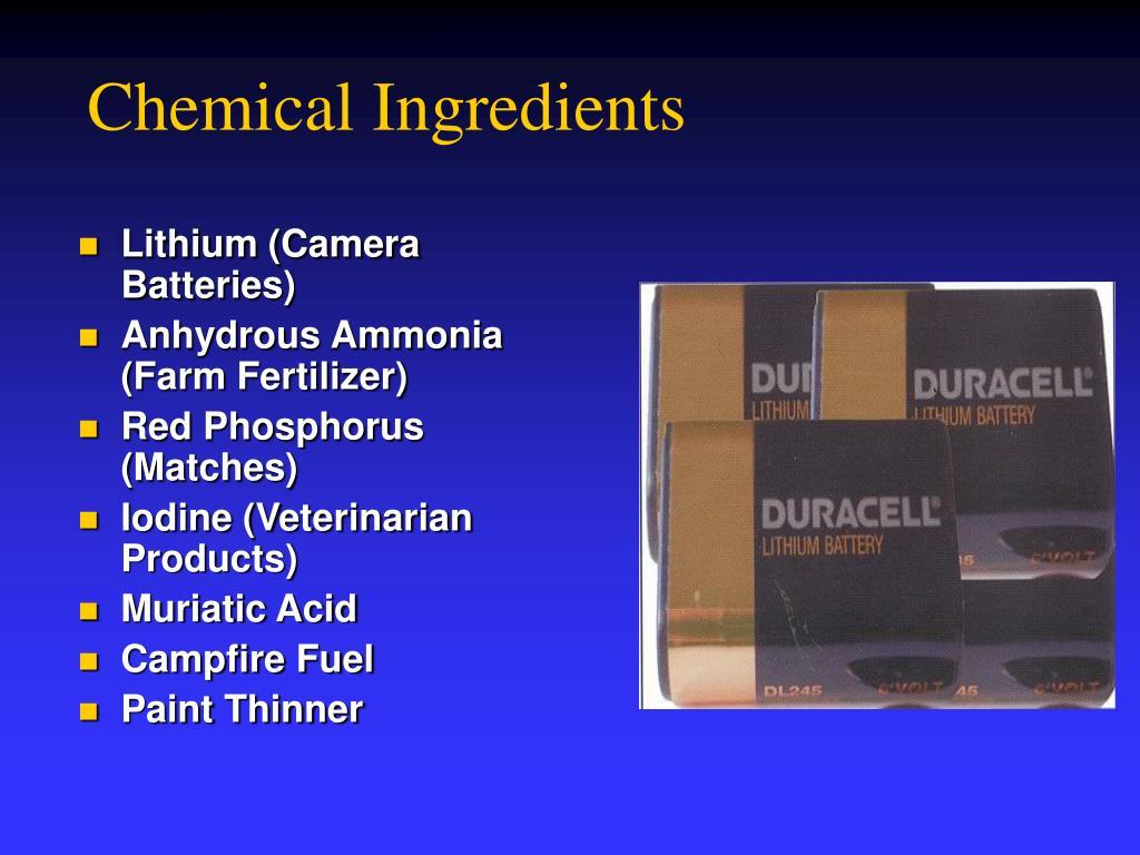 Chemical Ingredients