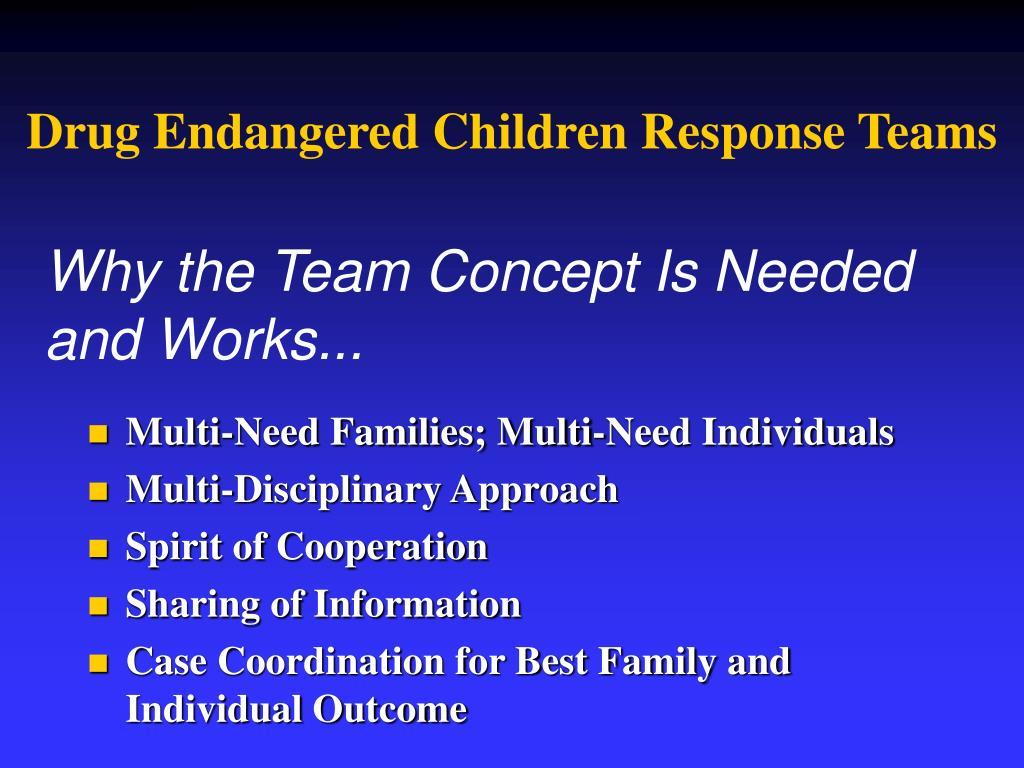Drug Endangered Children Response Teams