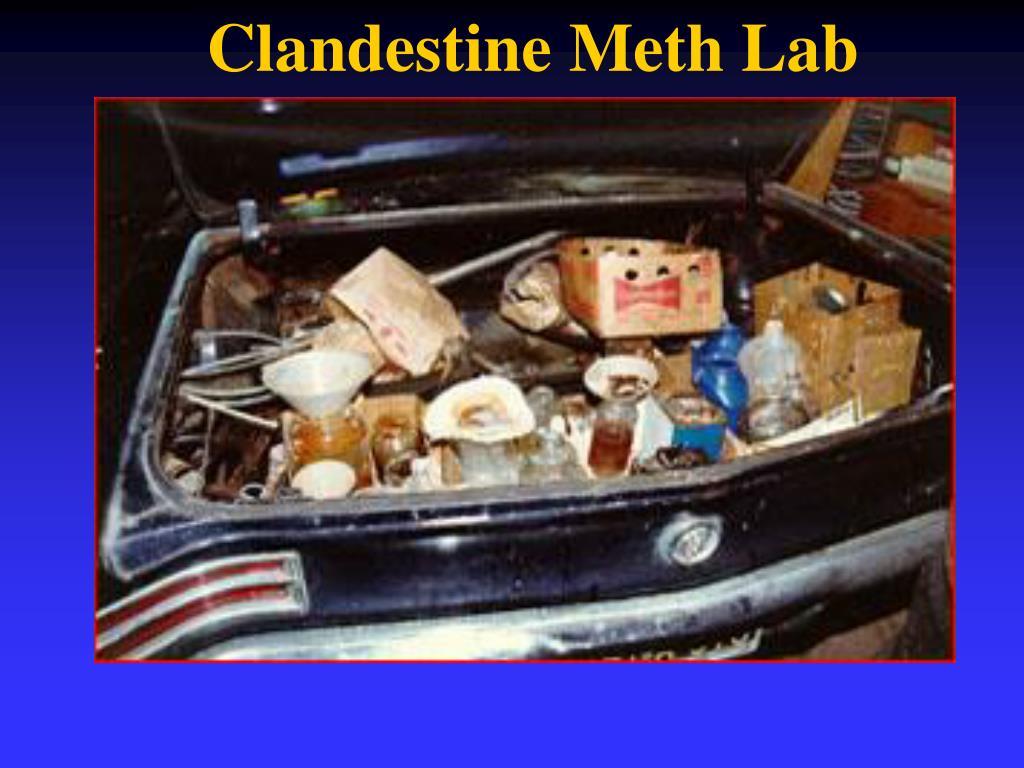 Clandestine Meth Lab