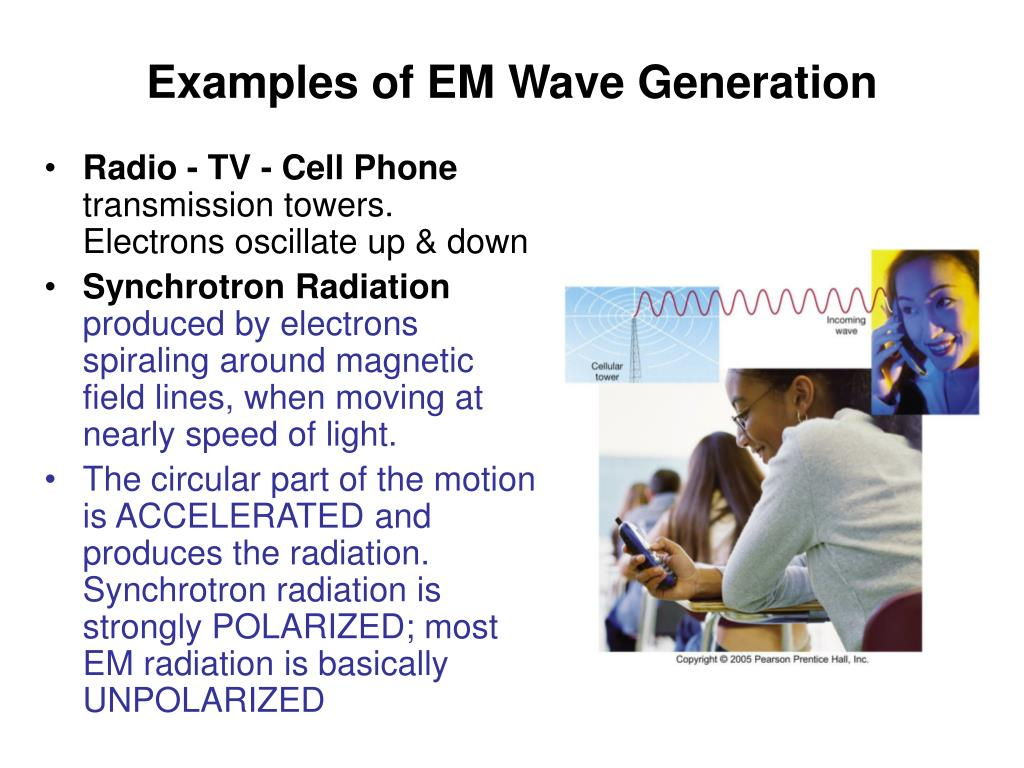 Examples of EM Wave Generation