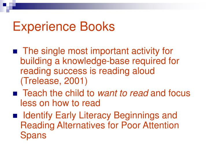 Experience Books