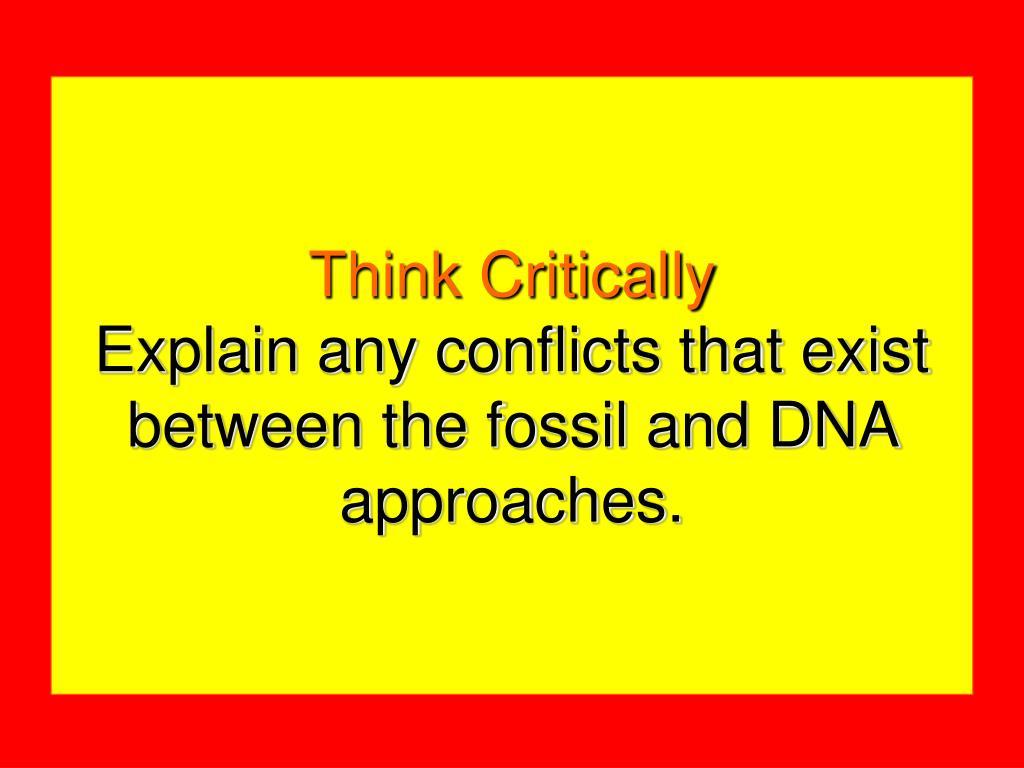 Think Critically