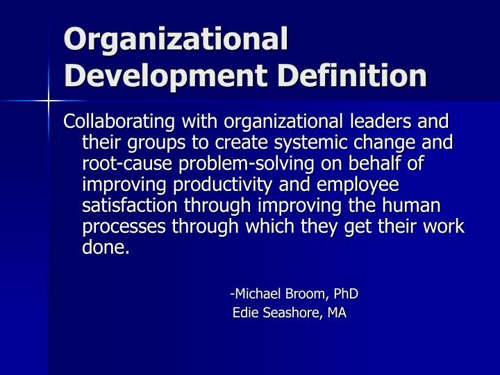 defines a changing organization and the reason it changes A mission statement defines what an organization is, why it exists, its reason for being at a minimum.