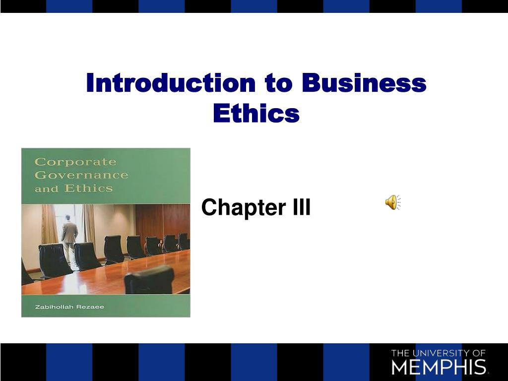 introduction to business ethics l.
