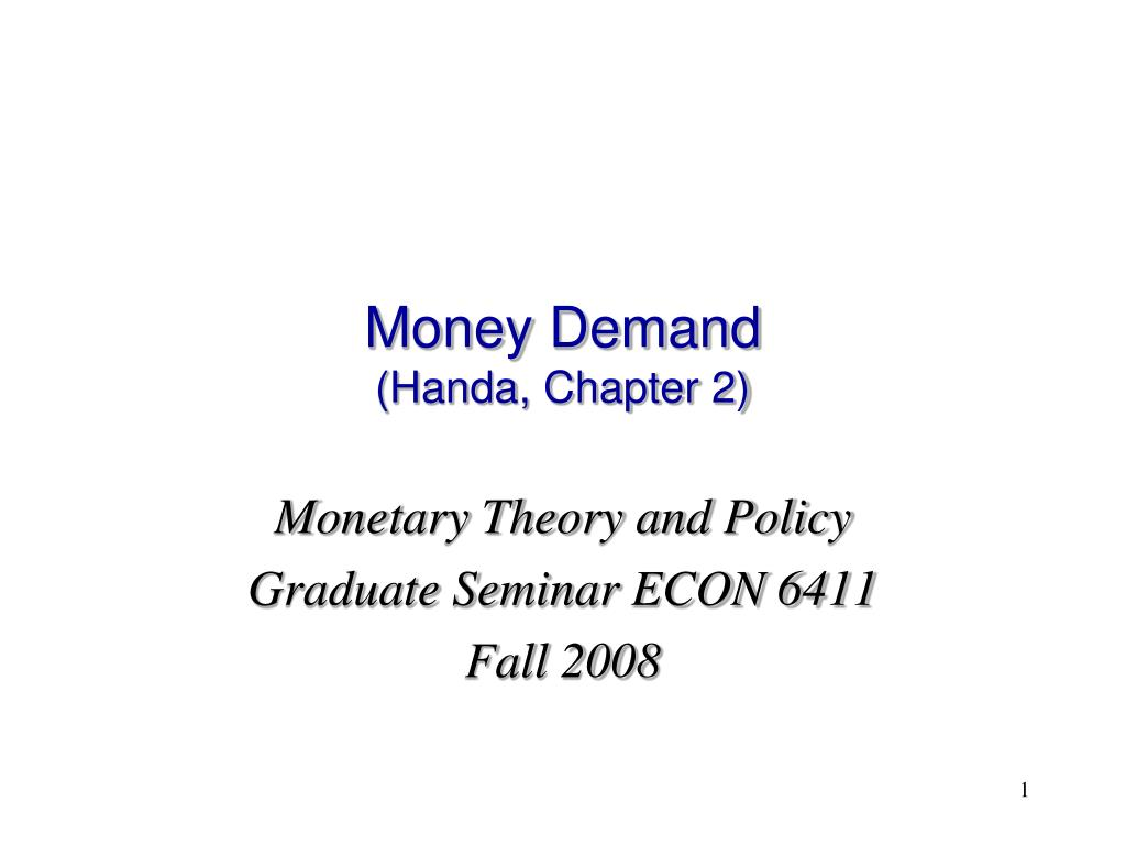 monetary theory and policy essay Monetary theory displaying 1 - 10 of 952 after nine years of unwarranted and irrational monetary policy an essay on economic theory.