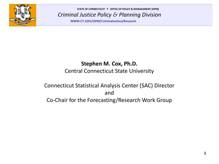 Stephen M. Cox, Ph.D.