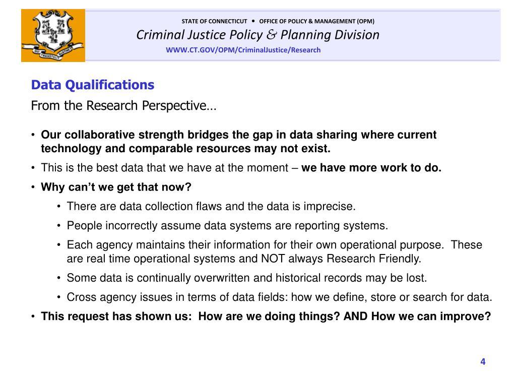 Data Qualifications