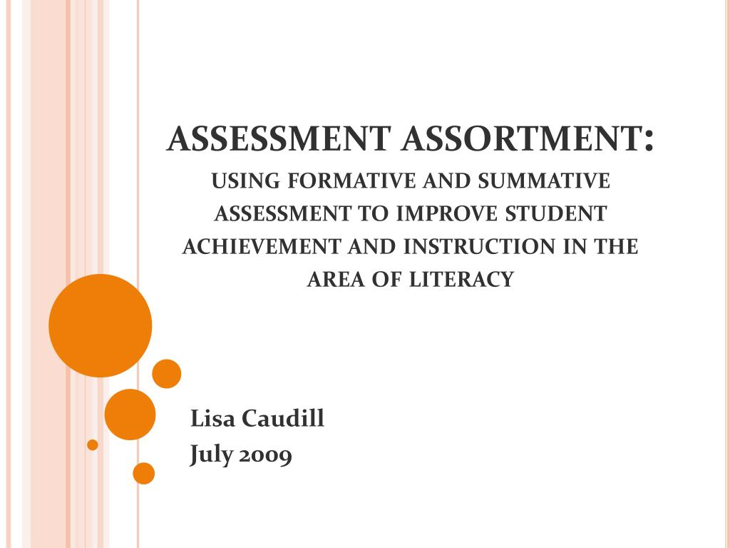 assessment assortment: