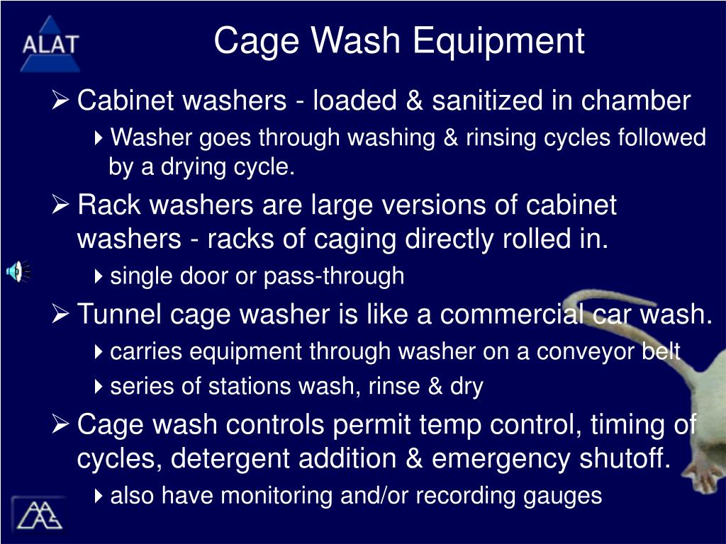 Cage Wash Equipment