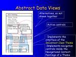 abstract data views27