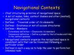 navigational contexts