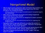 navigational model