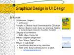 graphical design in ui design