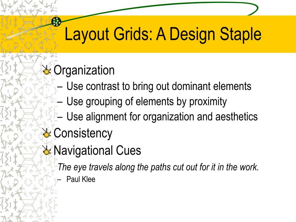 Layout Grids: A Design Staple
