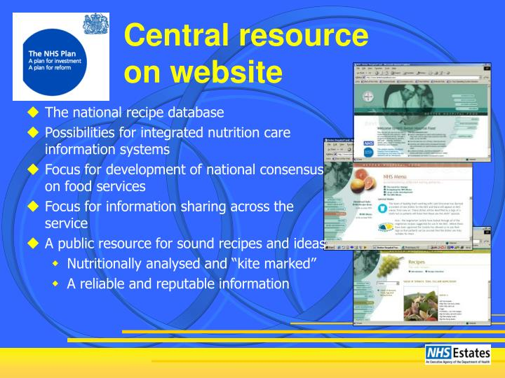 Central resource
