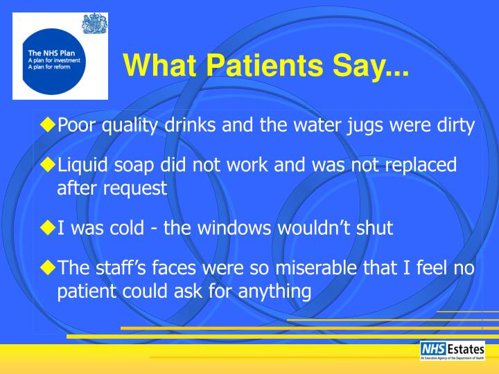 What Patients Say...