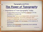 typography and print the power of typography13