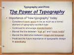 typography and print the power of typography14