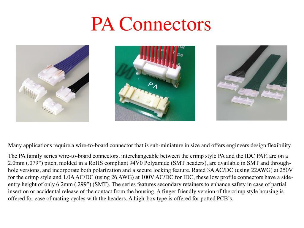PA Connectors