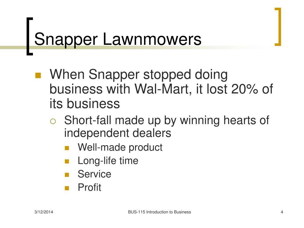 Snapper Lawnmowers