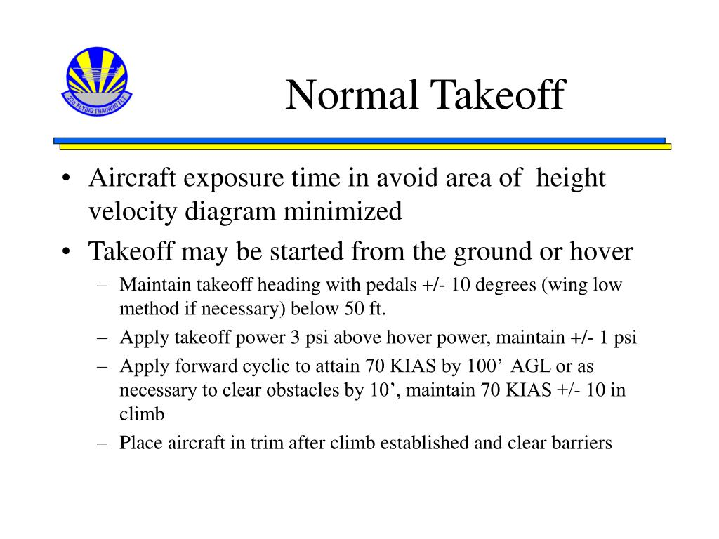 Normal Takeoff