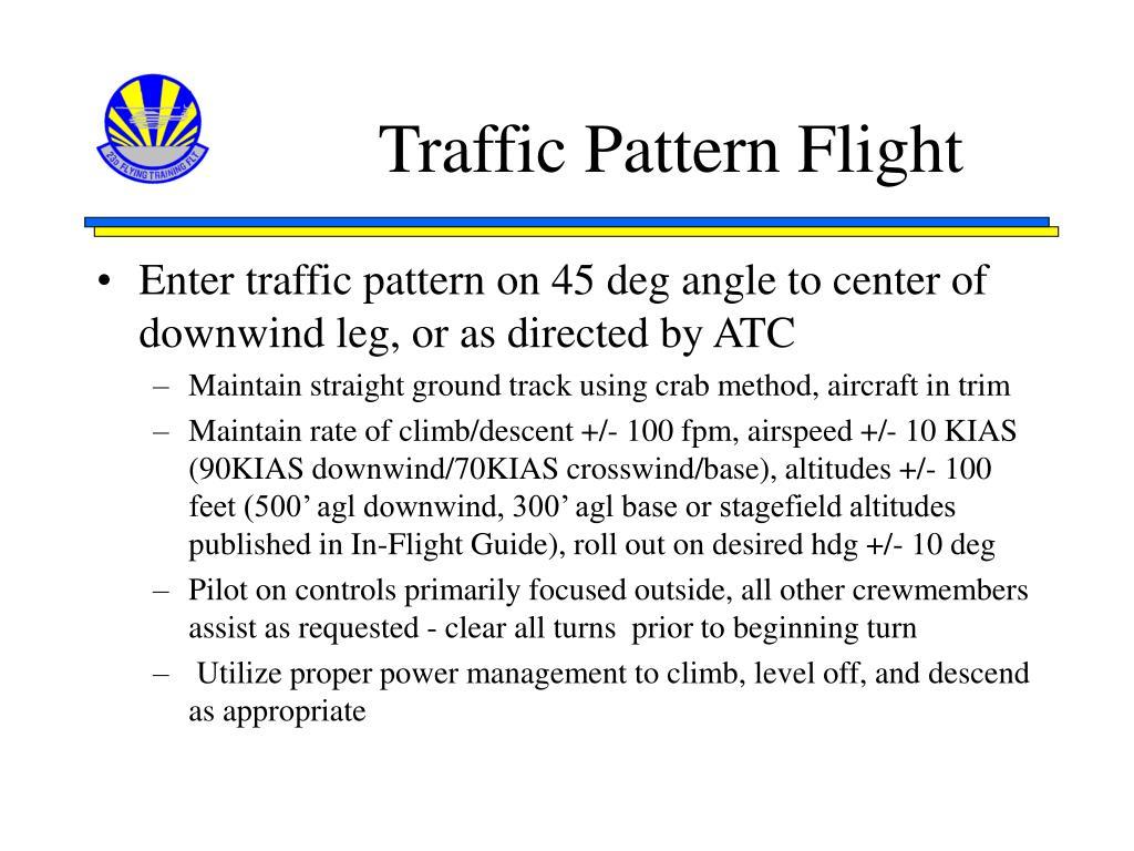 Traffic Pattern Flight