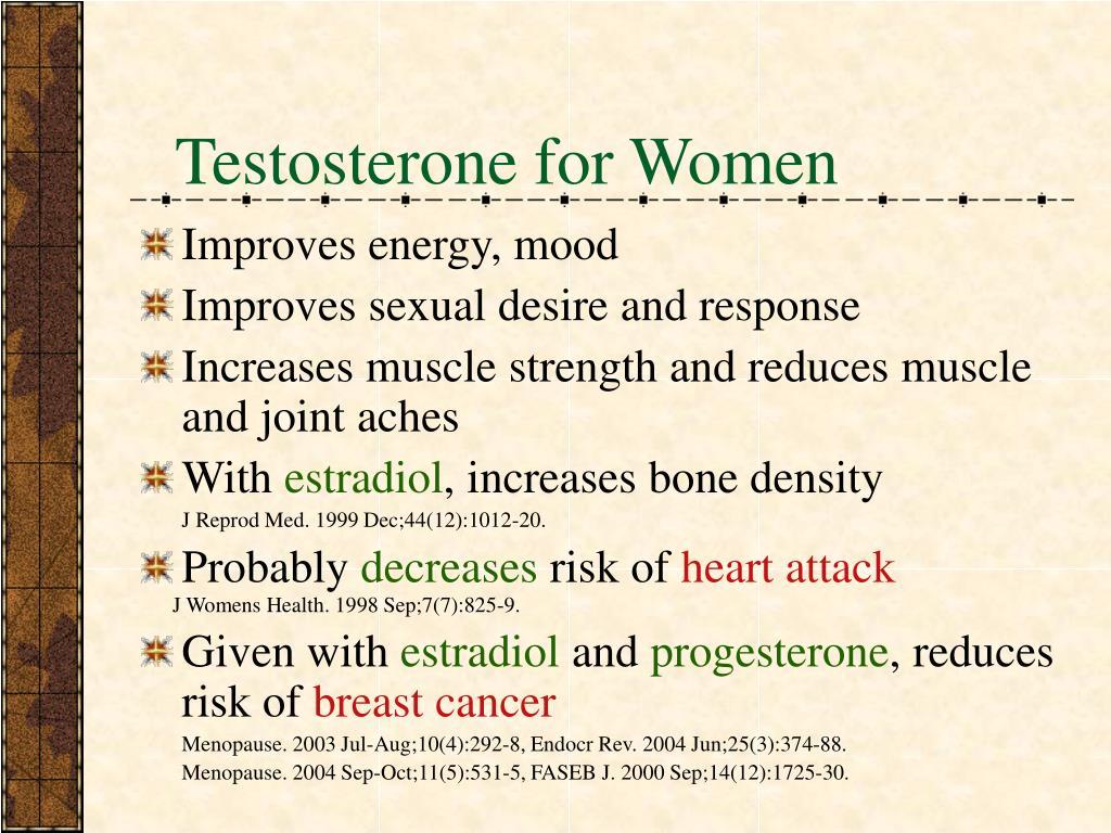 Testosterone for Women