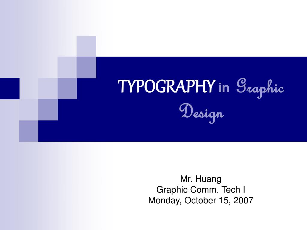 typography in graphic design l.