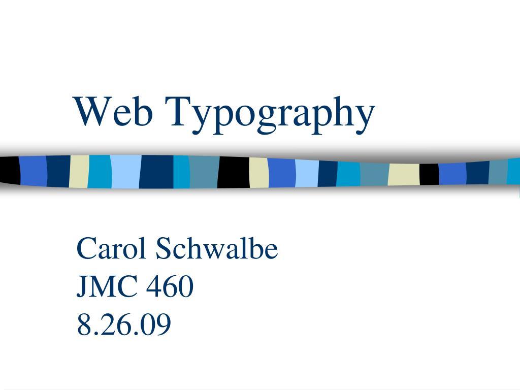 web typography l.