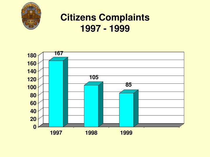 Citizens Complaints