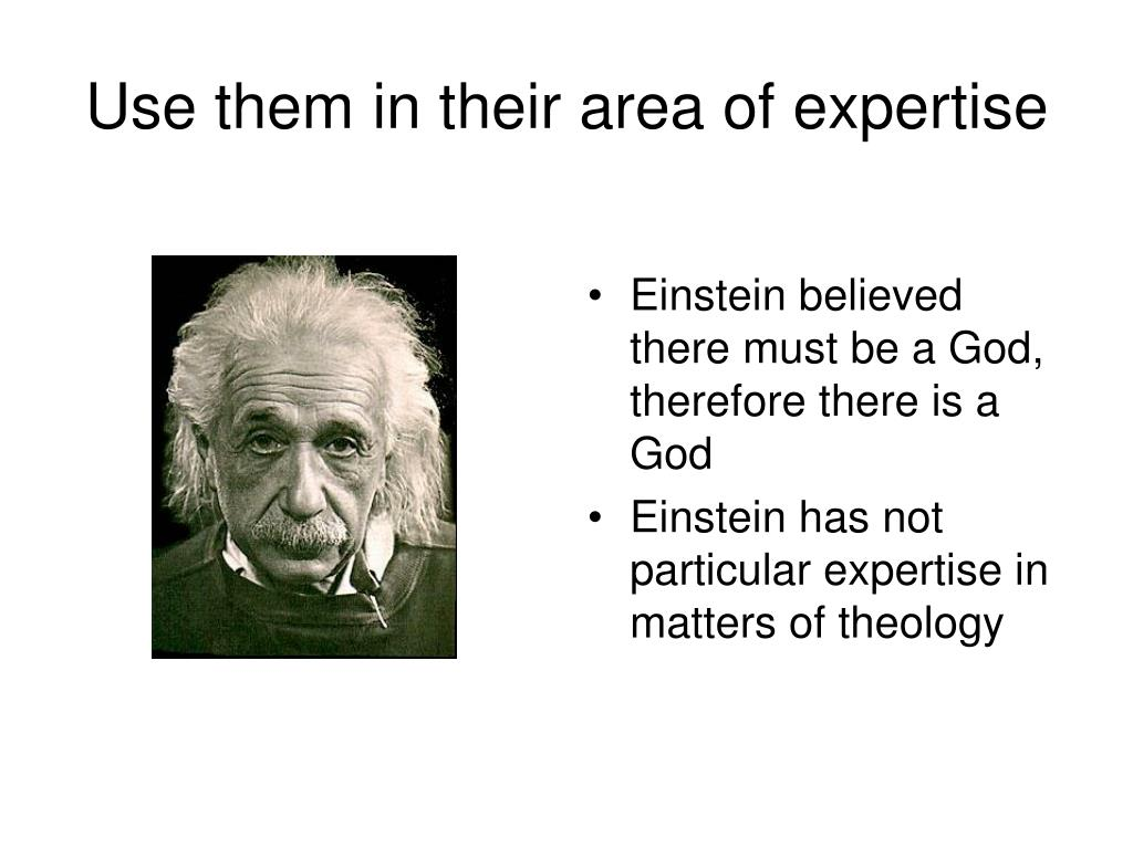 Use them in their area of expertise