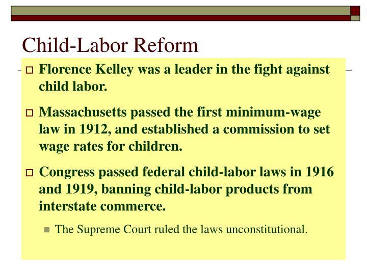 Child-Labor Reform