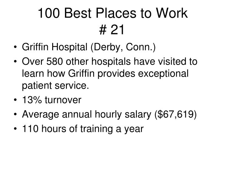 100 best places to work 21