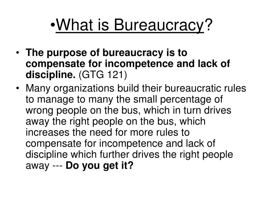 What is Bureaucracy