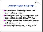 leverage buyout lbo steps