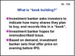 what is book building110