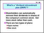 what s a dividend reinvestment plan drip