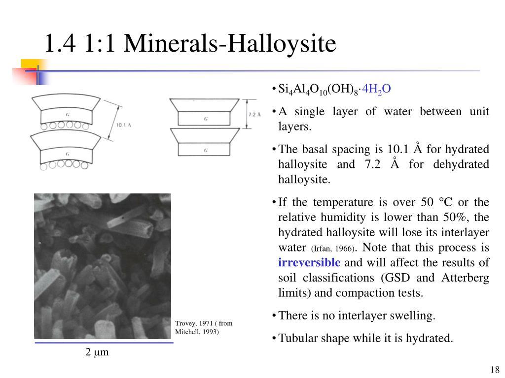 1.4 1:1 Minerals-Halloysite