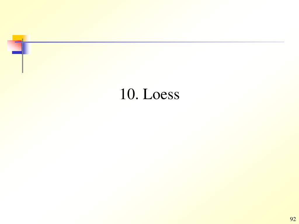 10. Loess
