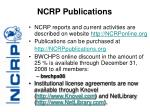 ncrp publications