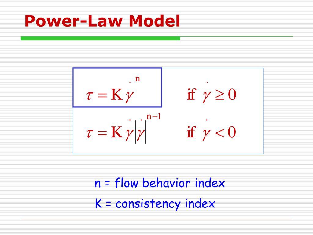 Power-Law Model