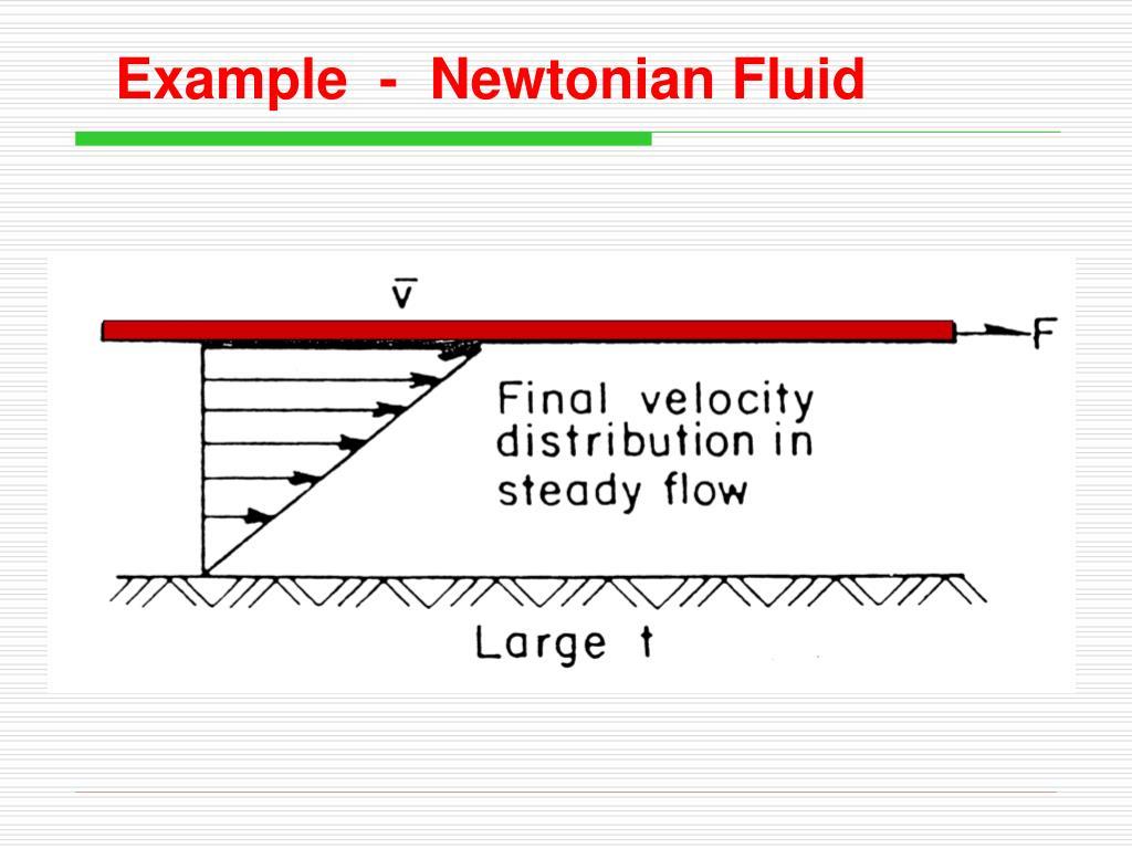 Example  -  Newtonian Fluid