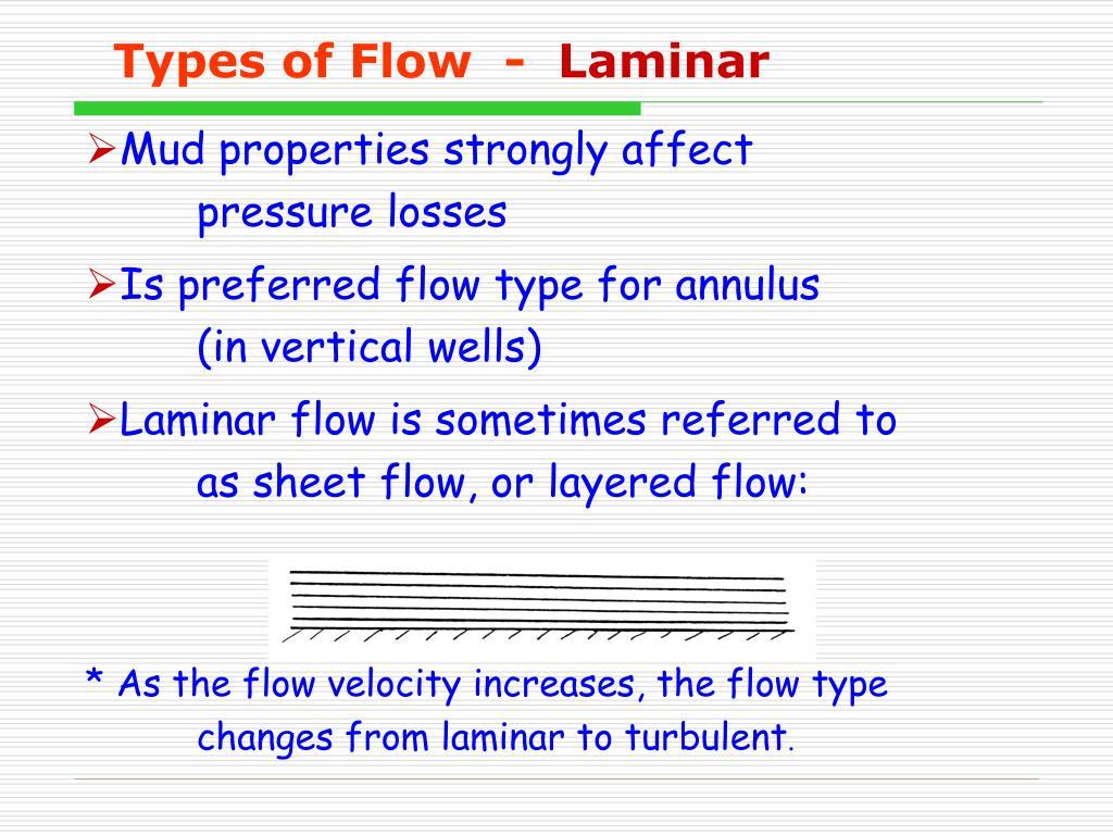 Types of Flow  -