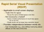 rapid serial visual presentation rsvp22