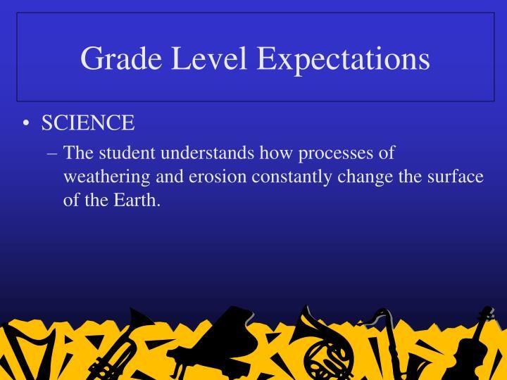 Grade level expectations3