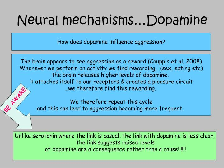 Neural mechanisms…Dopamine