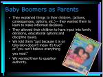 baby boomers as parents29