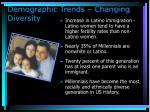 demographic trends changing diversity