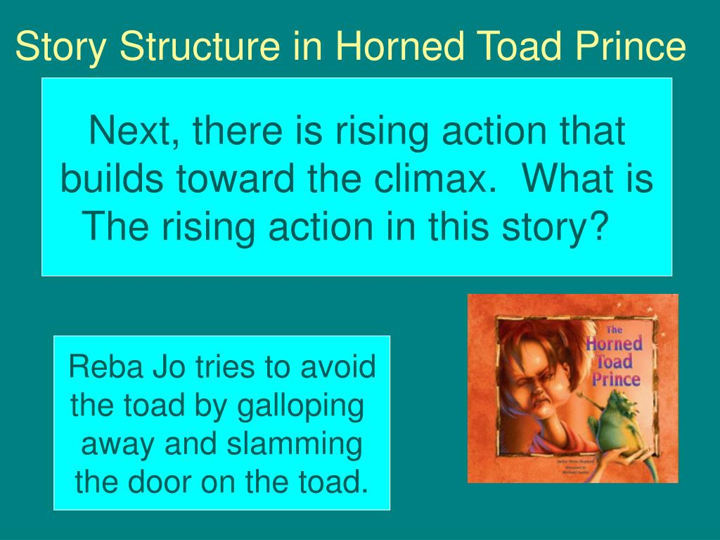Story Structure in Horned Toad Prince