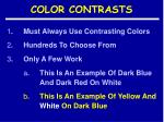 color contrasts10